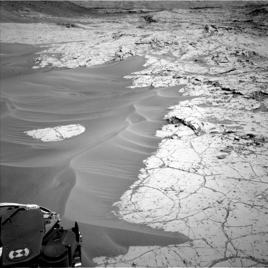 Nasa's Mars rover Curiosity acquired this image using its Left Navigation Camera on Sol 753, at drive 1020, site number 42