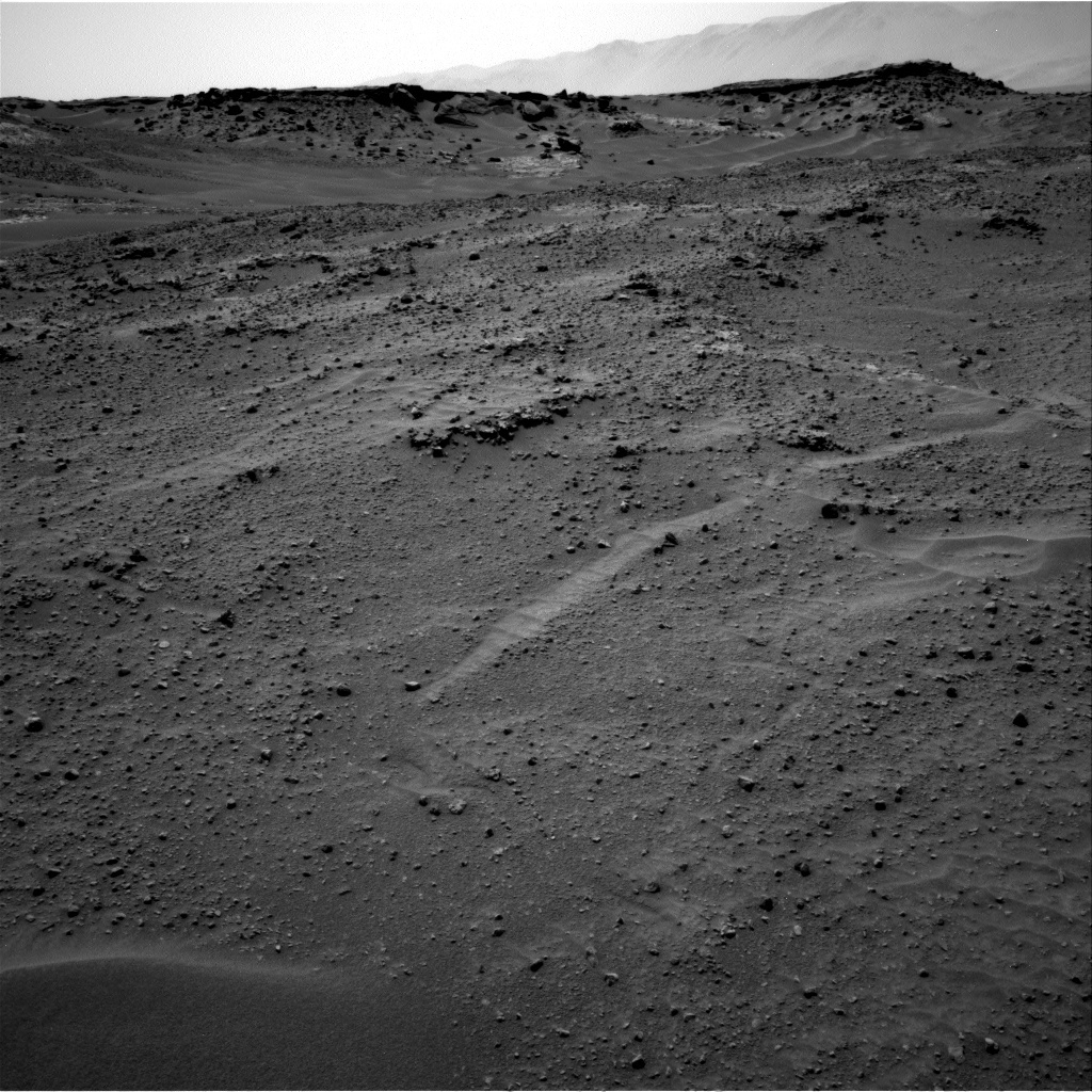 NASA's Mars rover Curiosity acquired this image using its Right Navigation Cameras (Navcams) on Sol 753