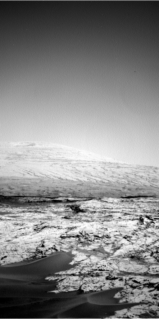 Nasa's Mars rover Curiosity acquired this image using its Left Navigation Camera on Sol 754, at drive 1020, site number 42