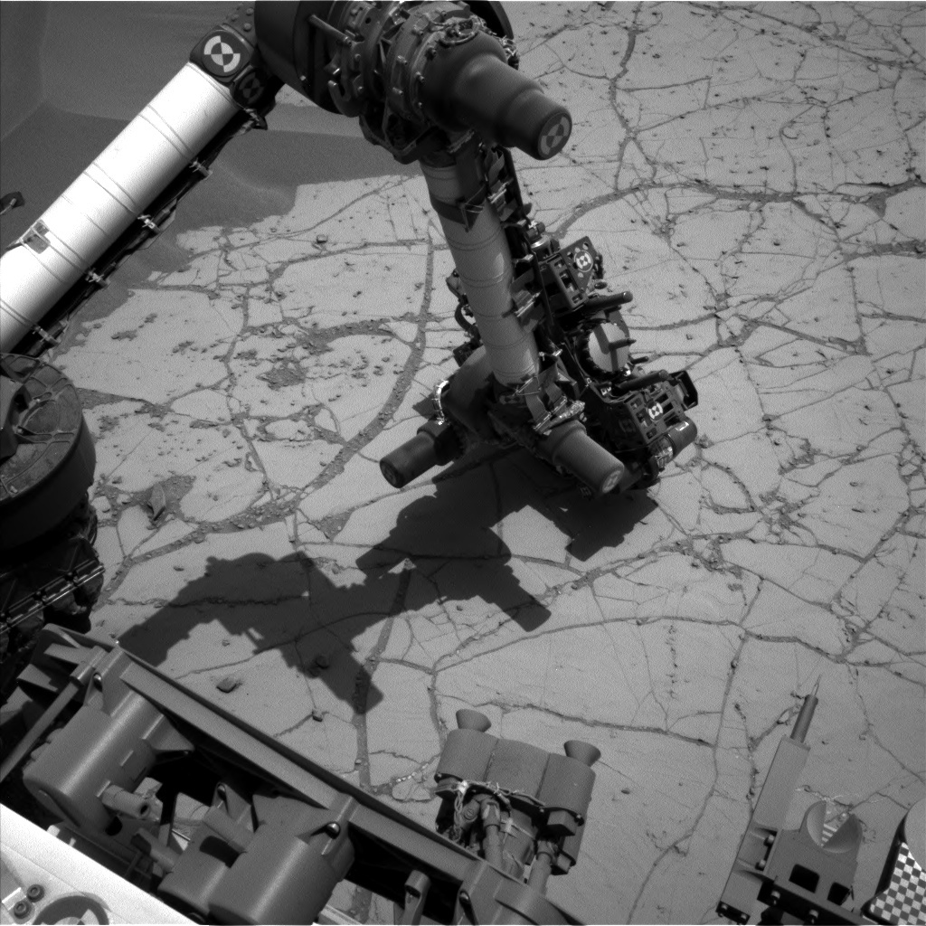 NASA's Mars rover Curiosity acquired this image using its Left Navigation Camera (Navcams) on Sol 755