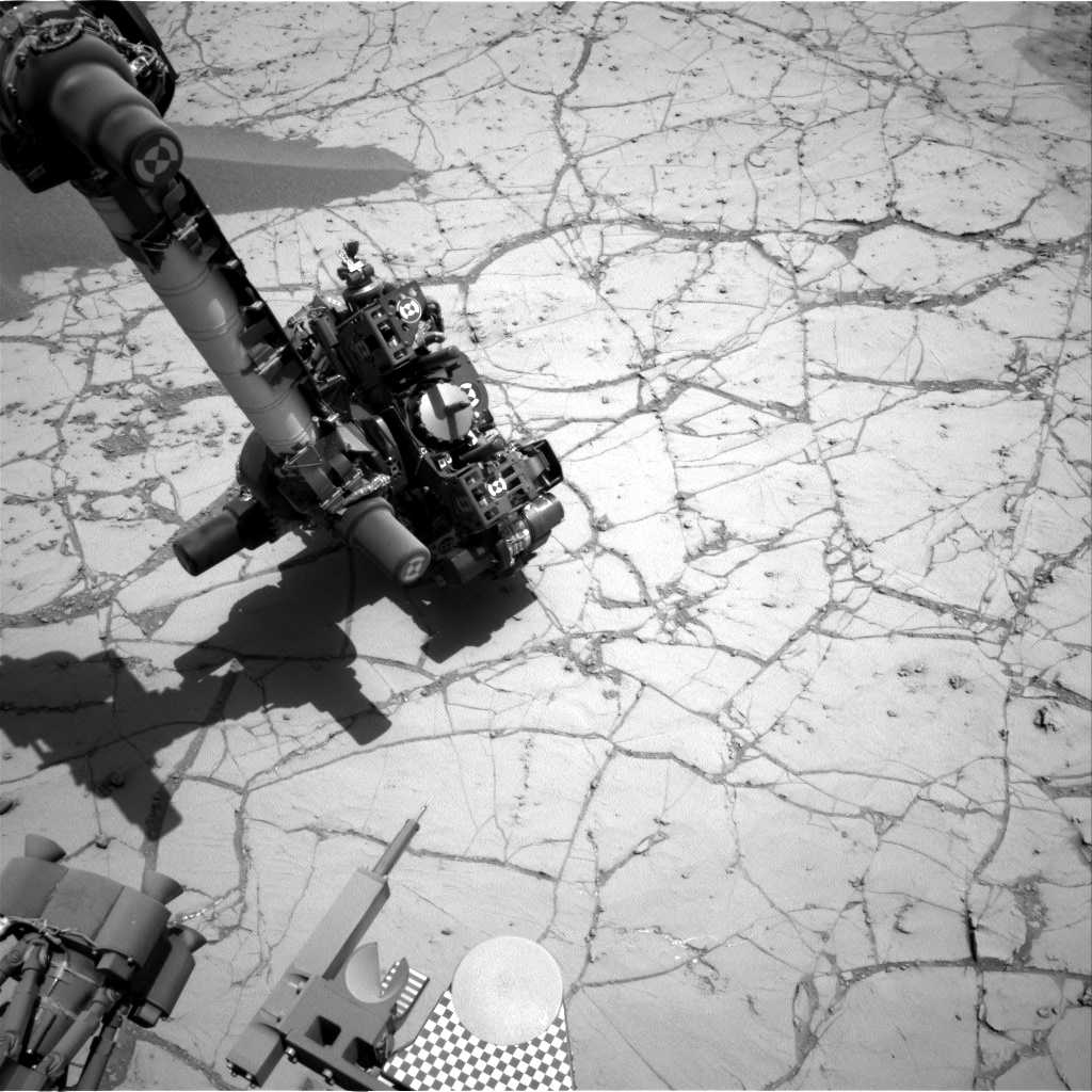 Nasa's Mars rover Curiosity acquired this image using its Right Navigation Camera on Sol 755, at drive 1020, site number 42