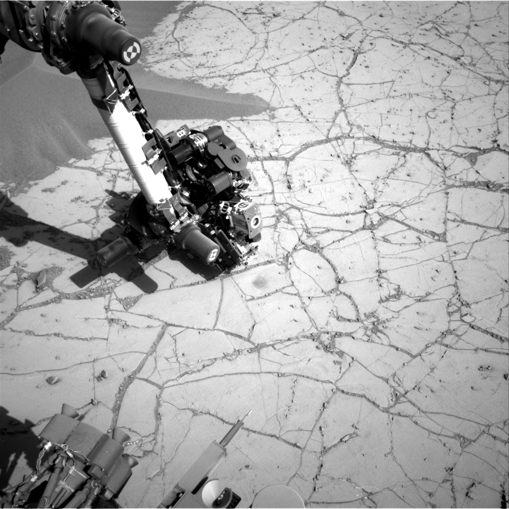 Nasa's Mars rover Curiosity acquired this image using its Right Navigation Camera on Sol 758, at drive 1020, site number 42