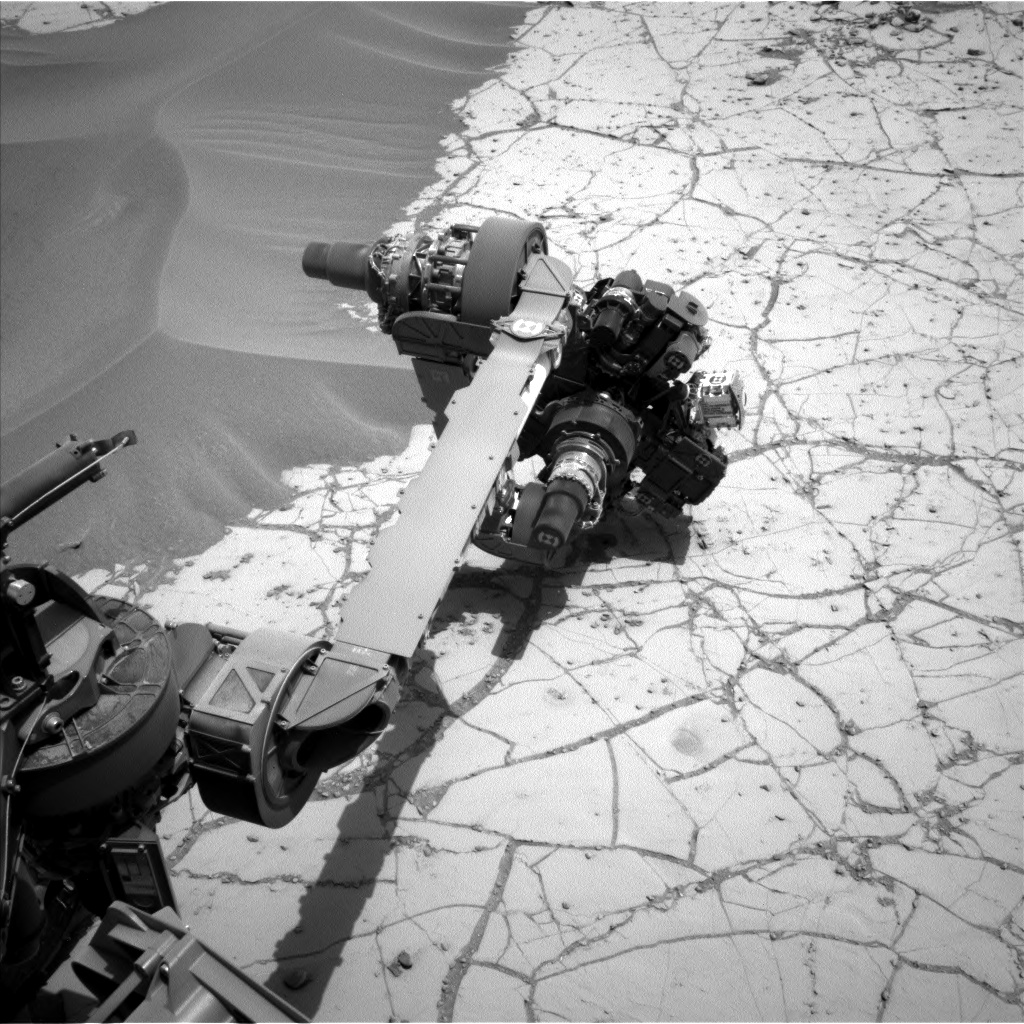 Nasa's Mars rover Curiosity acquired this image using its Left Navigation Camera on Sol 759, at drive 1020, site number 42