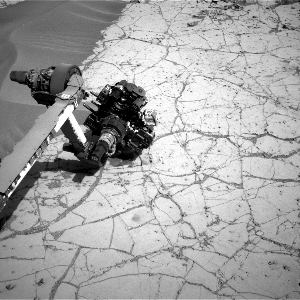 Nasa's Mars rover Curiosity acquired this image using its Right Navigation Camera on Sol 759, at drive 1020, site number 42