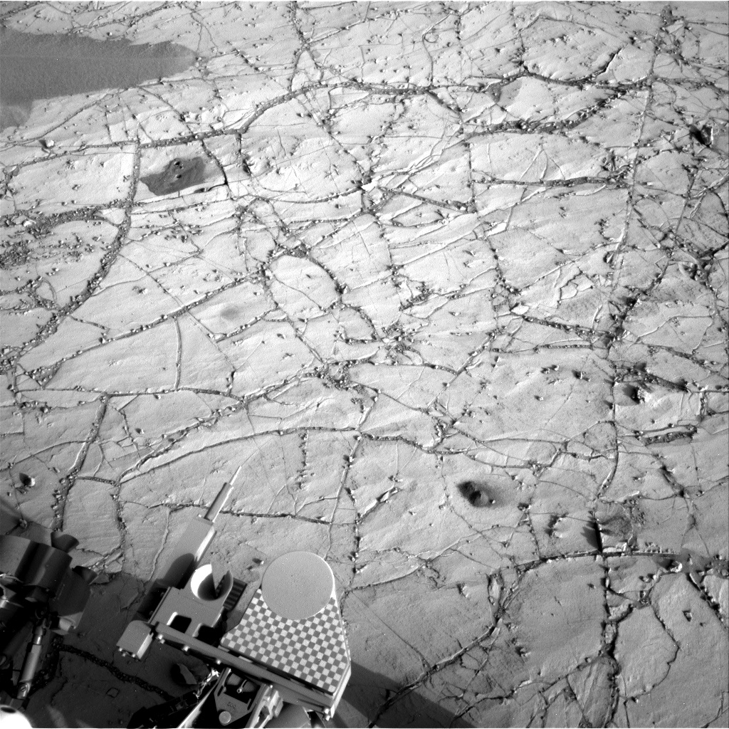 Nasa's Mars rover Curiosity acquired this image using its Right Navigation Camera on Sol 765, at drive 1020, site number 42