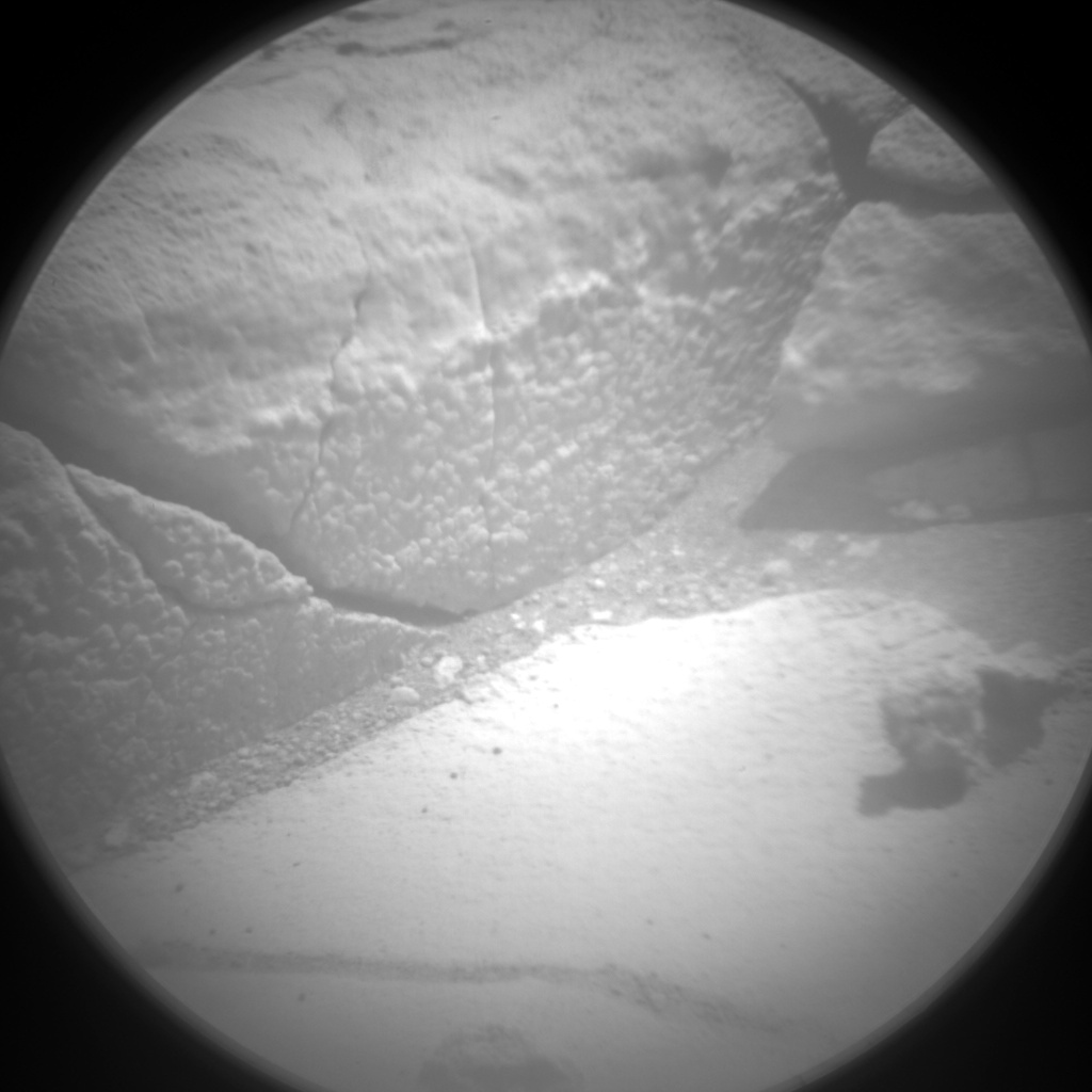 Nasa's Mars rover Curiosity acquired this image using its Chemistry & Camera (ChemCam) on Sol 766, at drive 1020, site number 42
