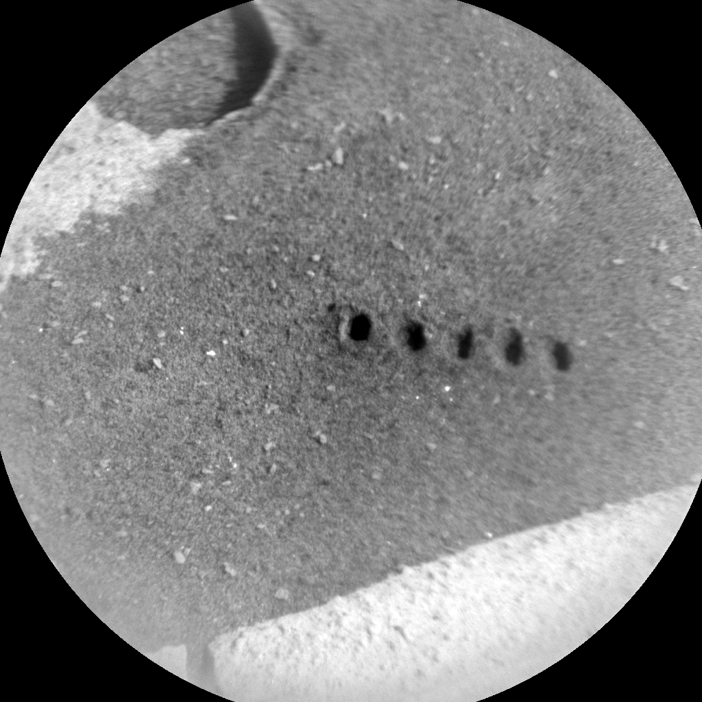 Nasa's Mars rover Curiosity acquired this image using its Chemistry & Camera (ChemCam) on Sol 767, at drive 1020, site number 42