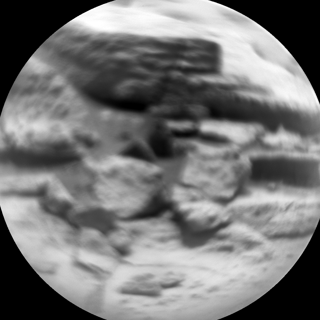 Nasa's Mars rover Curiosity acquired this image using its Chemistry & Camera (ChemCam) on Sol 771, at drive 1020, site number 42