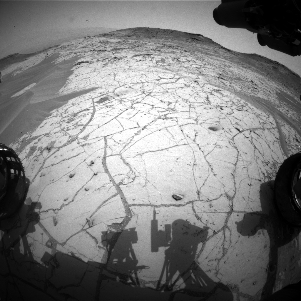 Nasa's Mars rover Curiosity acquired this image using its Front Hazard Avoidance Camera (Front Hazcam) on Sol 772, at drive 1020, site number 42