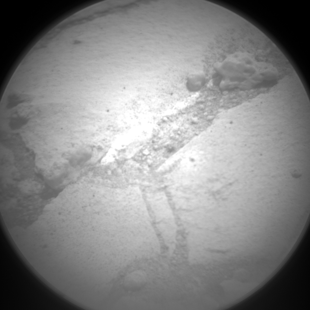 Nasa's Mars rover Curiosity acquired this image using its Chemistry & Camera (ChemCam) on Sol 773, at drive 1020, site number 42