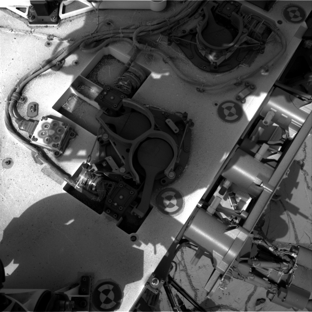 Nasa's Mars rover Curiosity acquired this image using its Right Navigation Camera on Sol 773, at drive 1020, site number 42