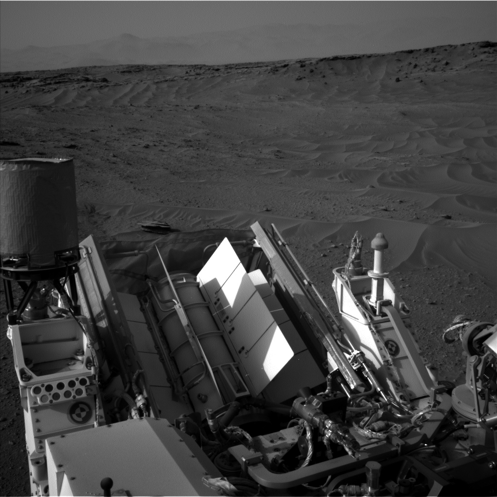 Nasa's Mars rover Curiosity acquired this image using its Left Navigation Camera on Sol 777, at drive 0, site number 43