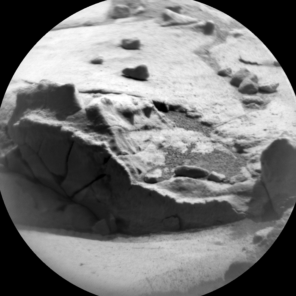 Nasa's Mars rover Curiosity acquired this image using its Chemistry & Camera (ChemCam) on Sol 778, at drive 0, site number 43