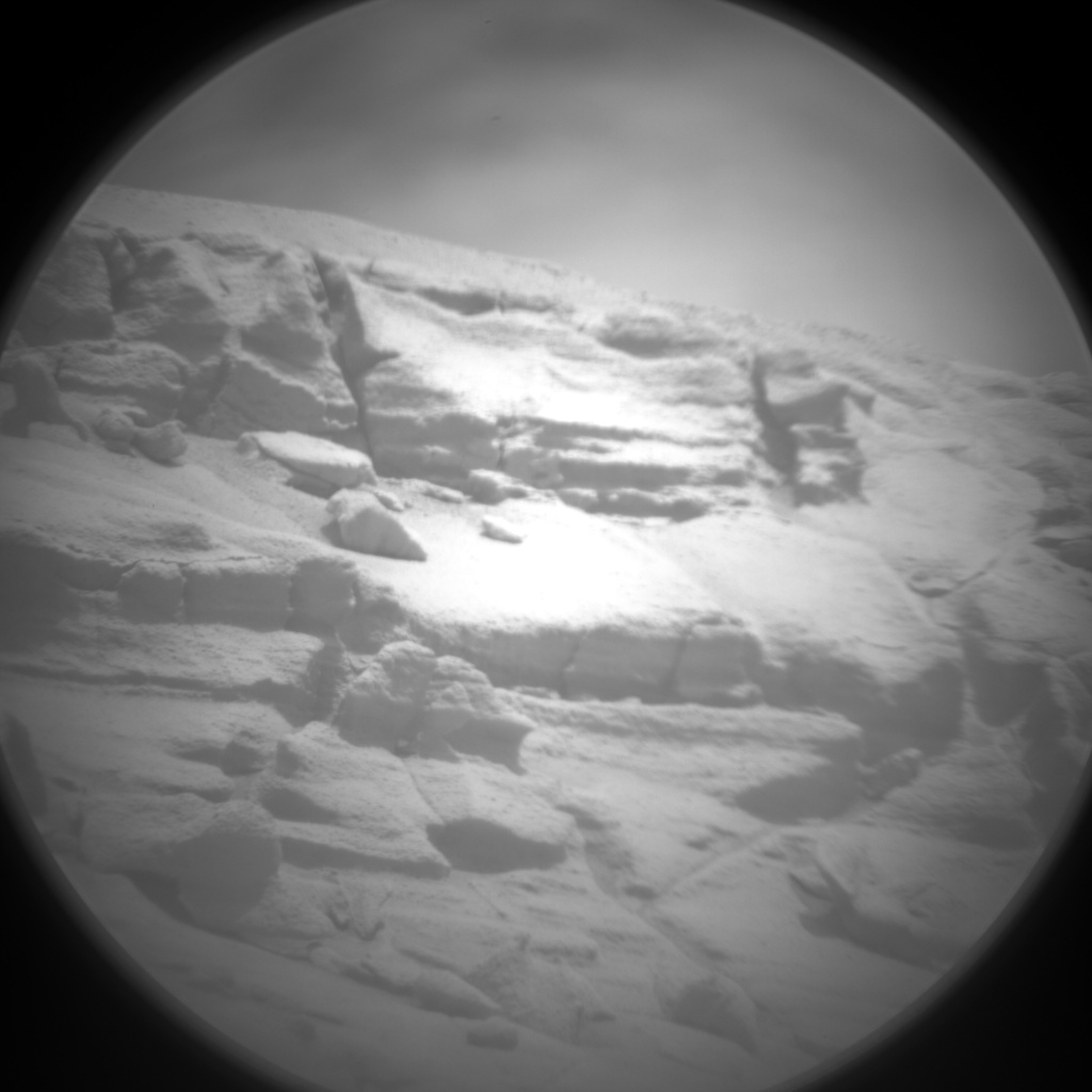 Nasa's Mars rover Curiosity acquired this image using its Chemistry & Camera (ChemCam) on Sol 779, at drive 0, site number 43