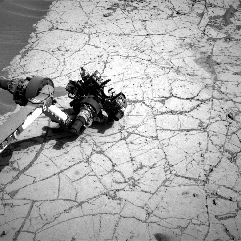 Nasa's Mars rover Curiosity acquired this image using its Right Navigation Camera on Sol 779, at drive 0, site number 43