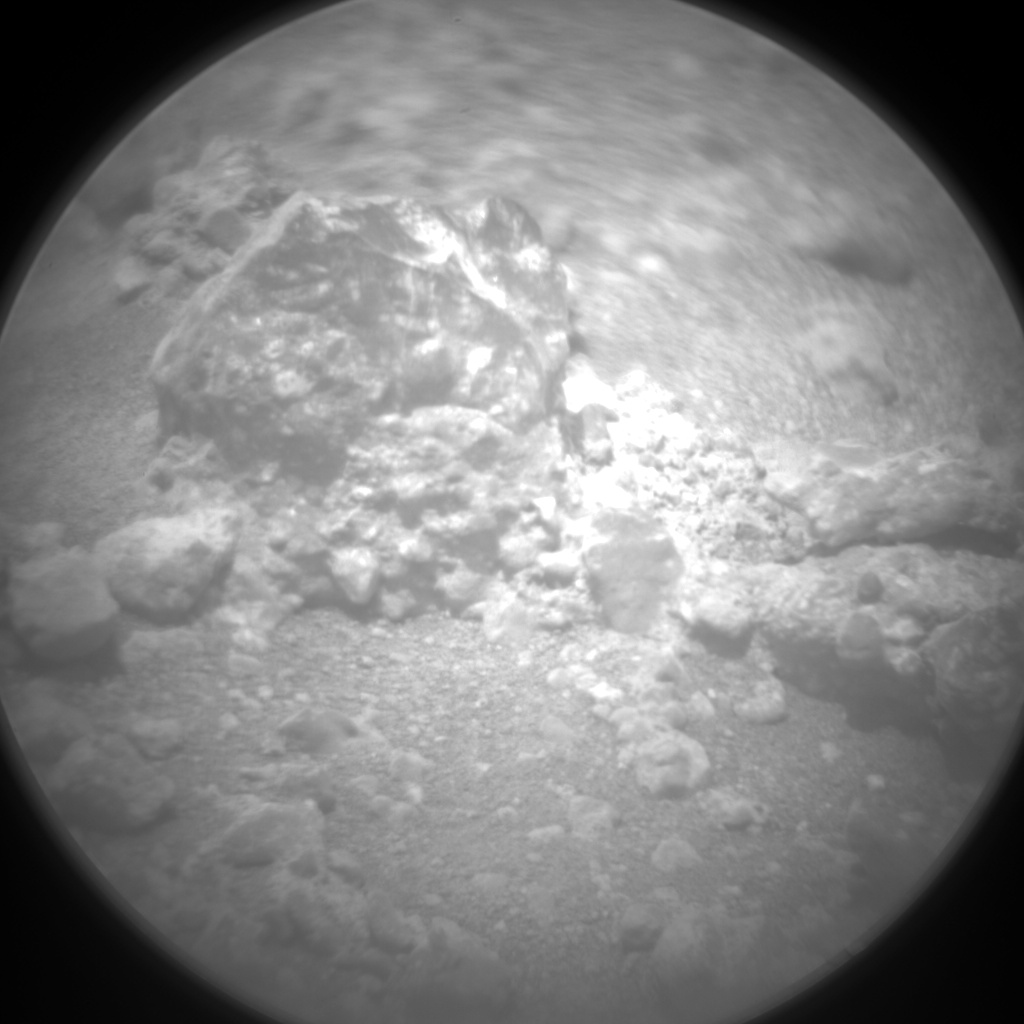 Nasa's Mars rover Curiosity acquired this image using its Chemistry & Camera (ChemCam) on Sol 780, at drive 0, site number 43