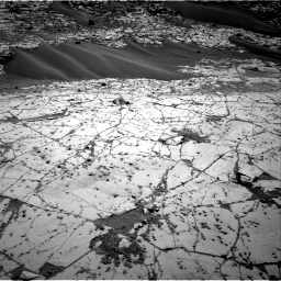 Nasa's Mars rover Curiosity acquired this image using its Right Navigation Camera on Sol 780, at drive 156, site number 43