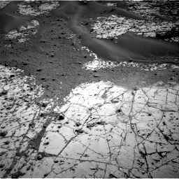Nasa's Mars rover Curiosity acquired this image using its Right Navigation Camera on Sol 780, at drive 180, site number 43