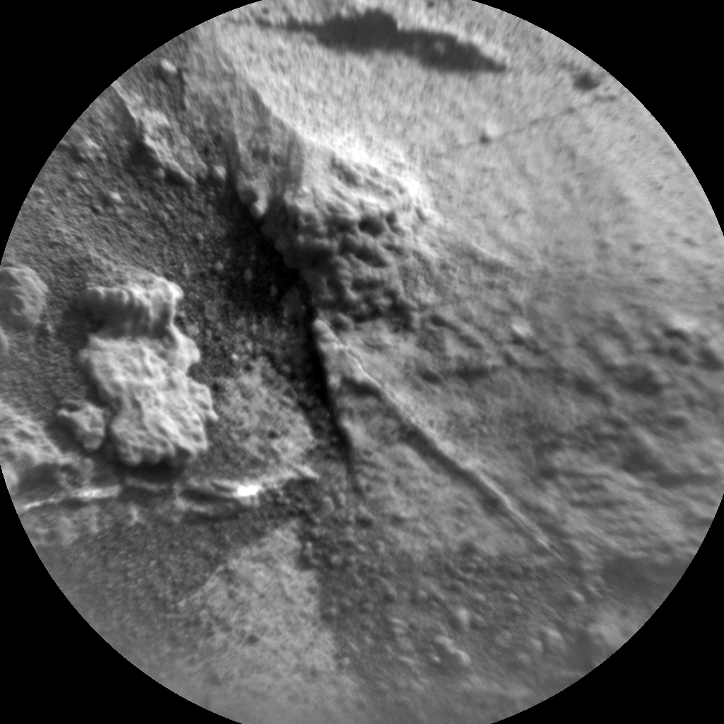 Nasa's Mars rover Curiosity acquired this image using its Chemistry & Camera (ChemCam) on Sol 780, at drive 216, site number 43