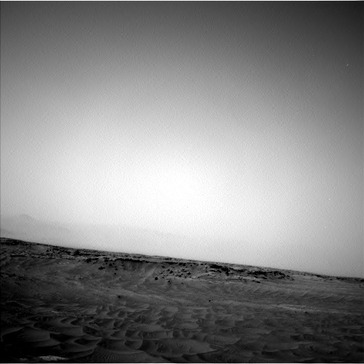 NASA's Mars rover Curiosity acquired this image using its Left Navigation Camera (Navcams) on Sol 781