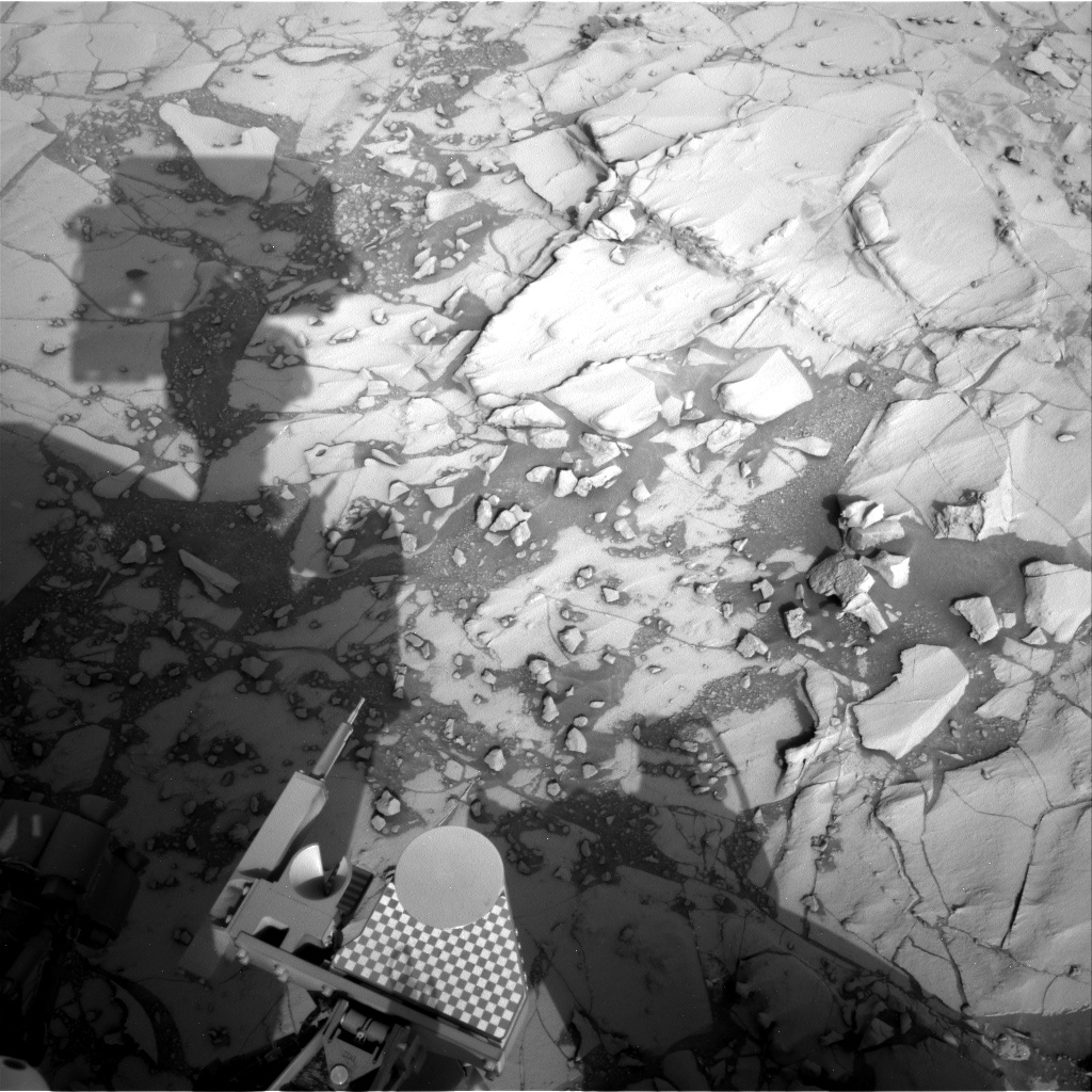 Nasa's Mars rover Curiosity acquired this image using its Right Navigation Camera on Sol 781, at drive 216, site number 43