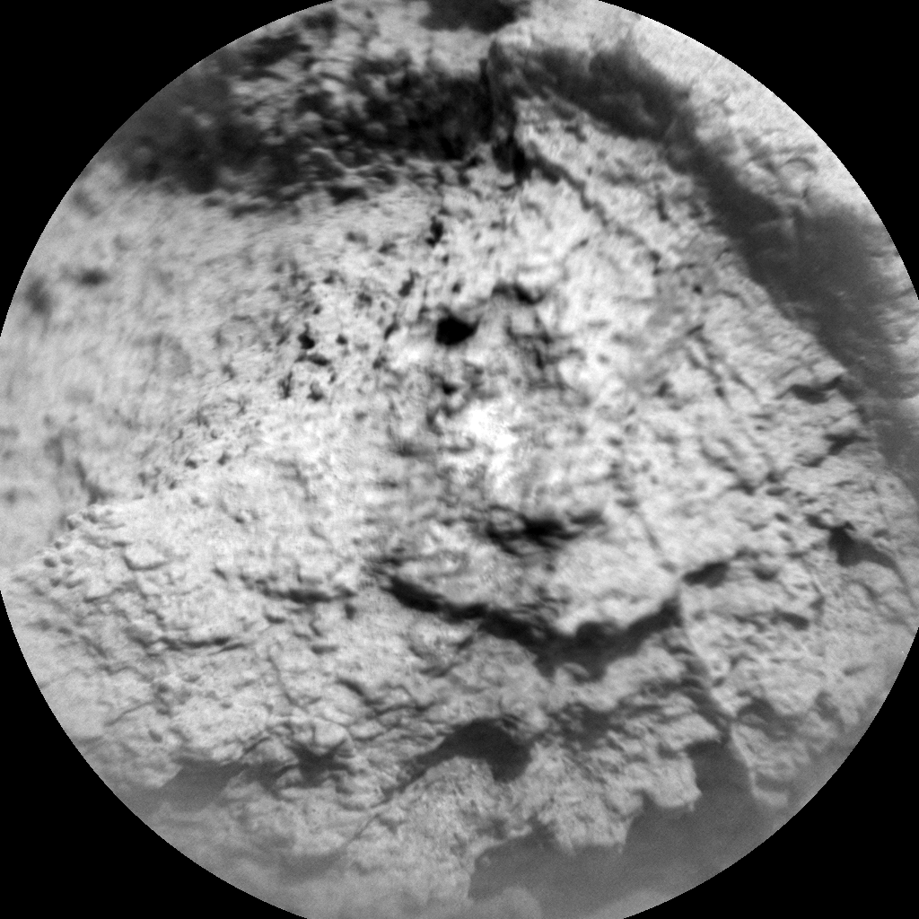 Nasa's Mars rover Curiosity acquired this image using its Chemistry & Camera (ChemCam) on Sol 781, at drive 216, site number 43