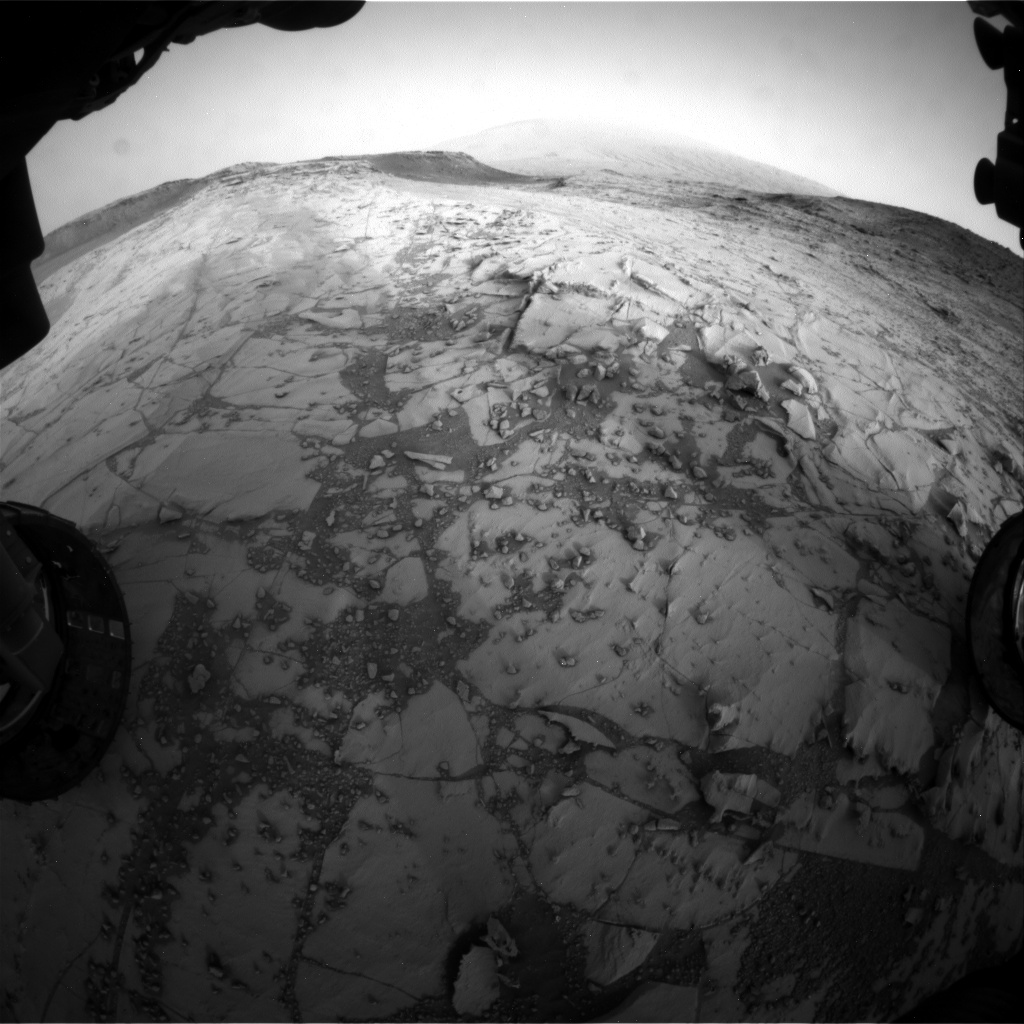 Nasa's Mars rover Curiosity acquired this image using its Front Hazard Avoidance Camera (Front Hazcam) on Sol 782, at drive 0, site number 44