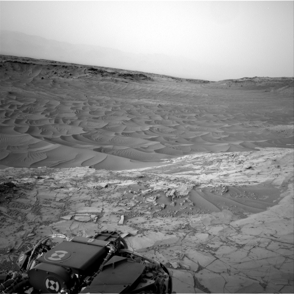 Nasa's Mars rover Curiosity acquired this image using its Right Navigation Camera on Sol 782, at drive 0, site number 44