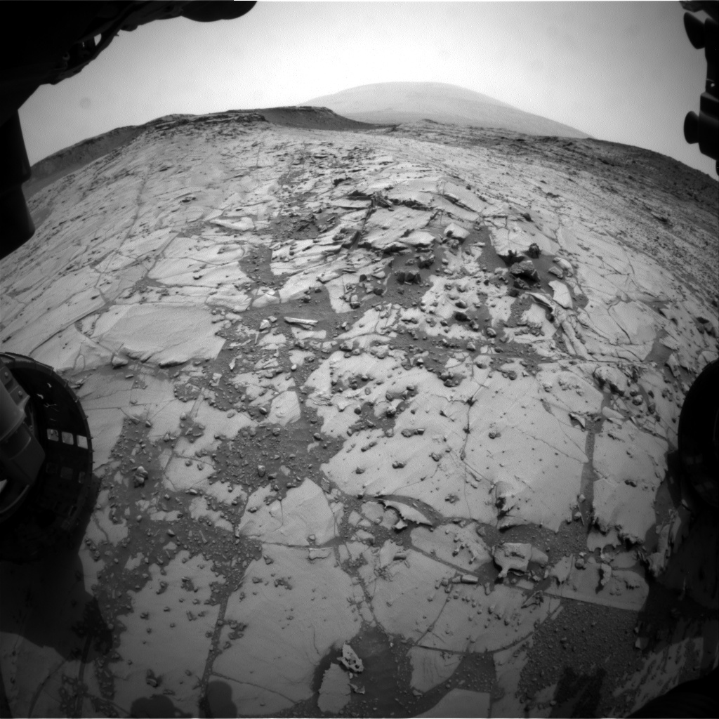 Nasa's Mars rover Curiosity acquired this image using its Front Hazard Avoidance Camera (Front Hazcam) on Sol 783, at drive 0, site number 44