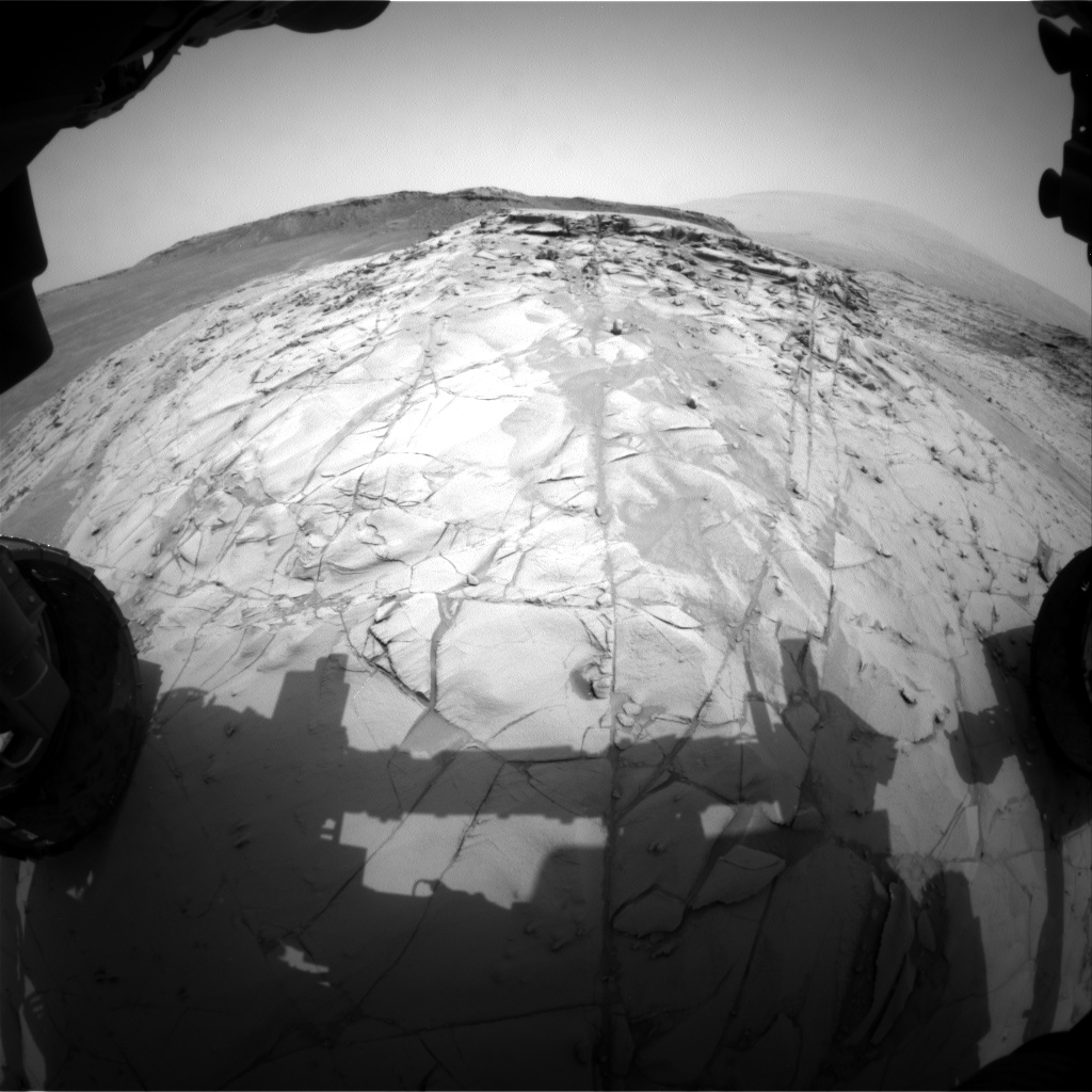 Nasa's Mars rover Curiosity acquired this image using its Front Hazard Avoidance Camera (Front Hazcam) on Sol 786, at drive 36, site number 44