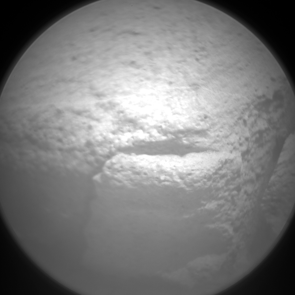 Nasa's Mars rover Curiosity acquired this image using its Chemistry & Camera (ChemCam) on Sol 787, at drive 36, site number 44