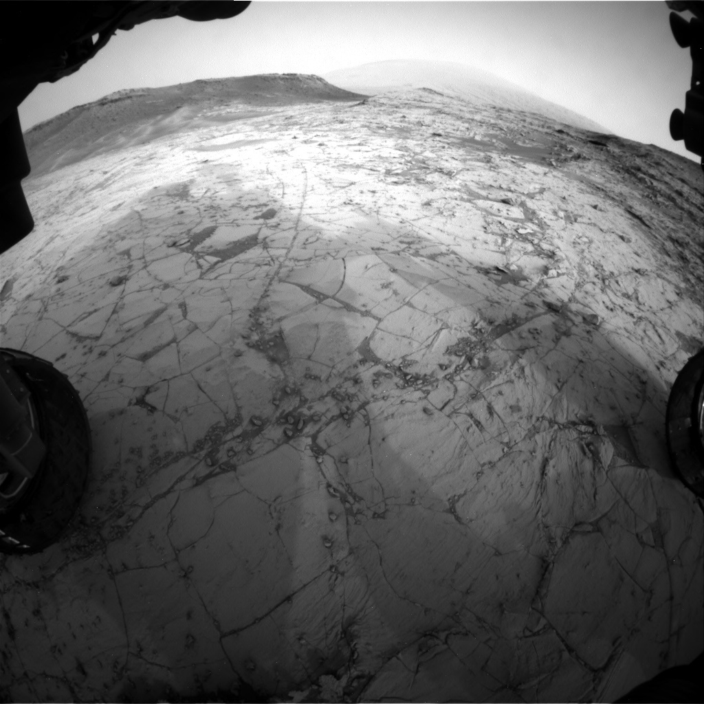 NASA's Mars rover Curiosity acquired this image using its Front Hazard Avoidance Cameras (Front Hazcams) on Sol 787