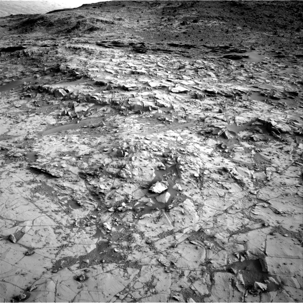 NASA's Mars rover Curiosity acquired this image using its Right Navigation Cameras (Navcams) on Sol 787