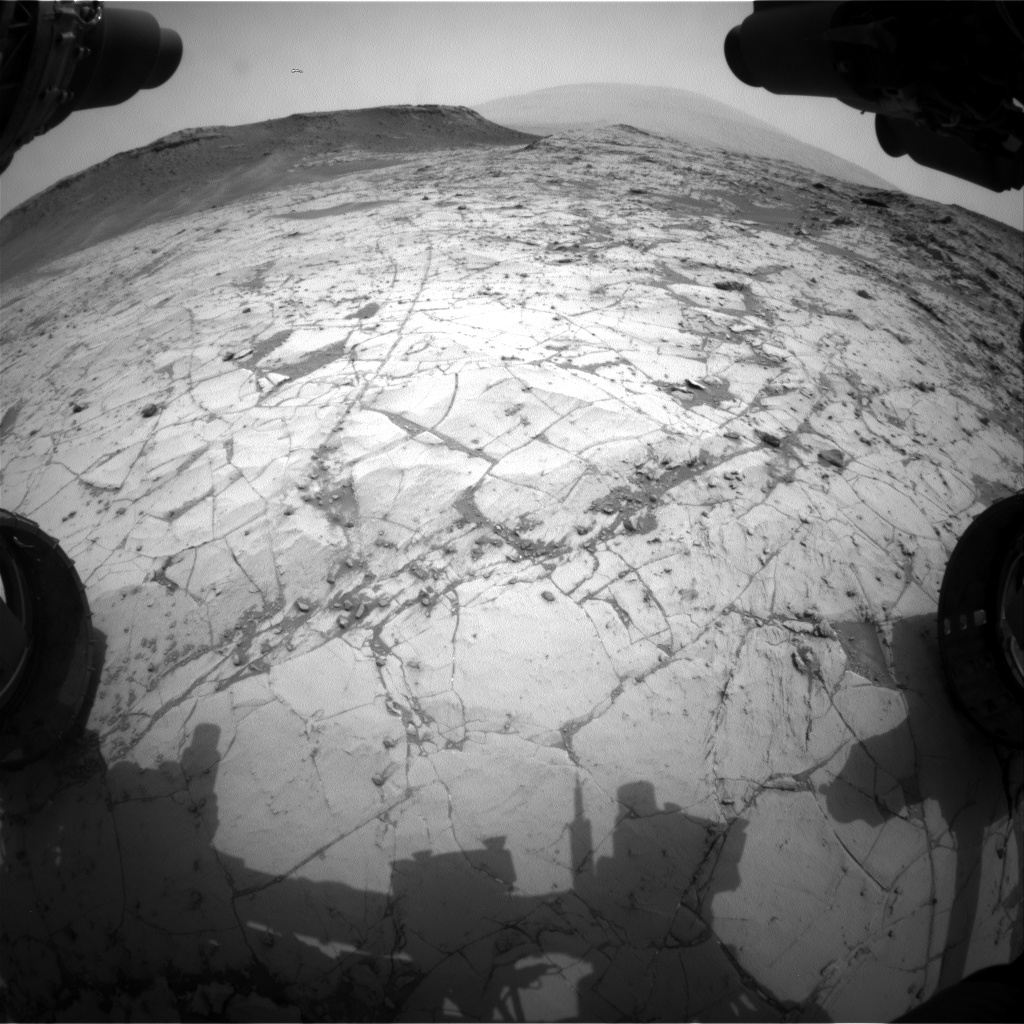 Nasa's Mars rover Curiosity acquired this image using its Front Hazard Avoidance Camera (Front Hazcam) on Sol 788, at drive 190, site number 44