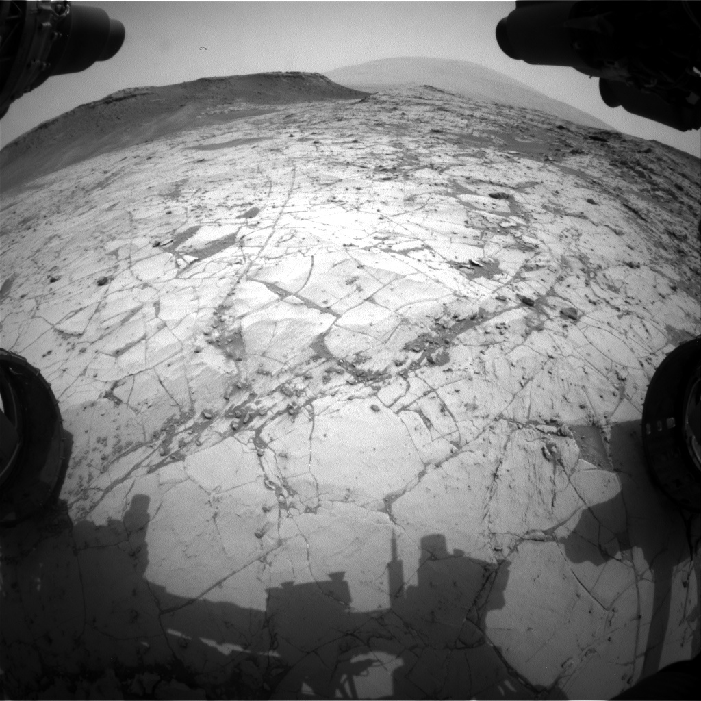 Nasa's Mars rover Curiosity acquired this image using its Front Hazard Avoidance Camera (Front Hazcam) on Sol 789, at drive 190, site number 44