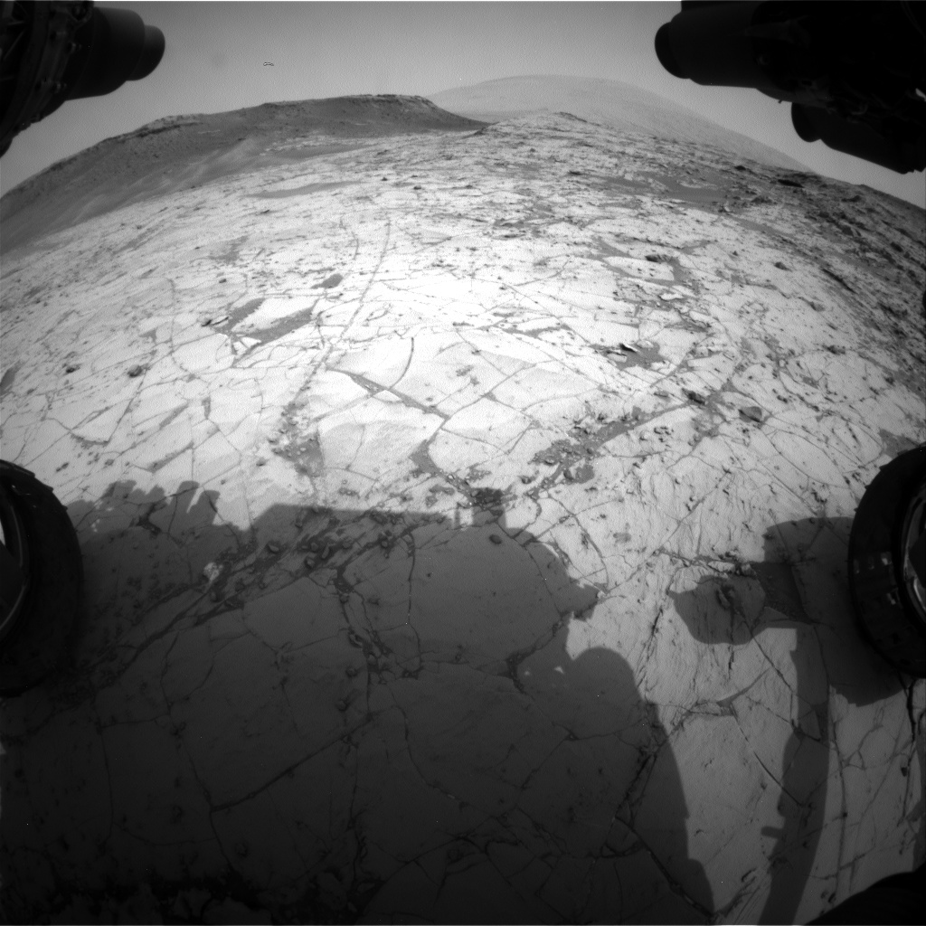 Nasa's Mars rover Curiosity acquired this image using its Front Hazard Avoidance Camera (Front Hazcam) on Sol 790, at drive 190, site number 44