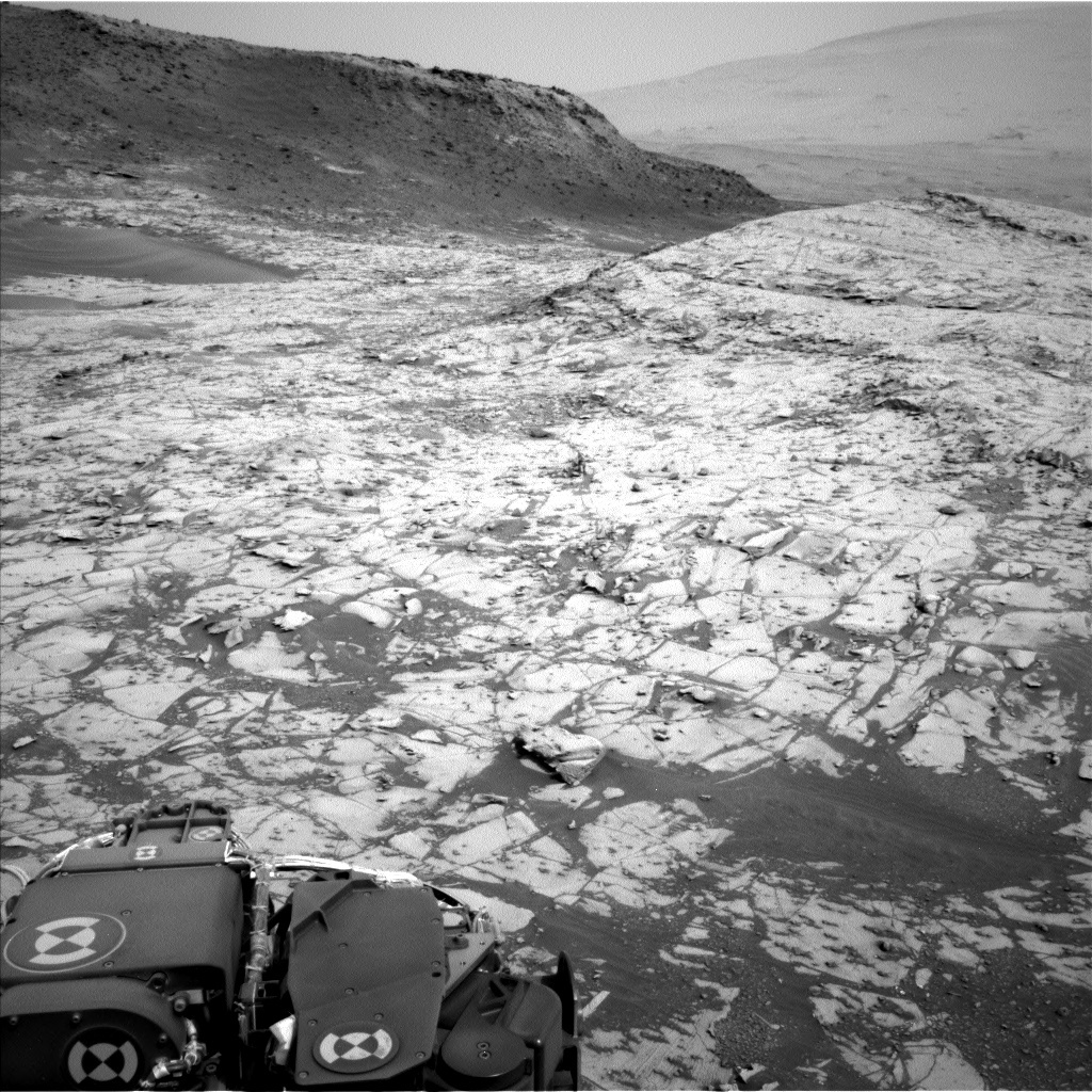 NASA's Mars rover Curiosity acquired this image using its Left Navigation Camera (Navcams) on Sol 790