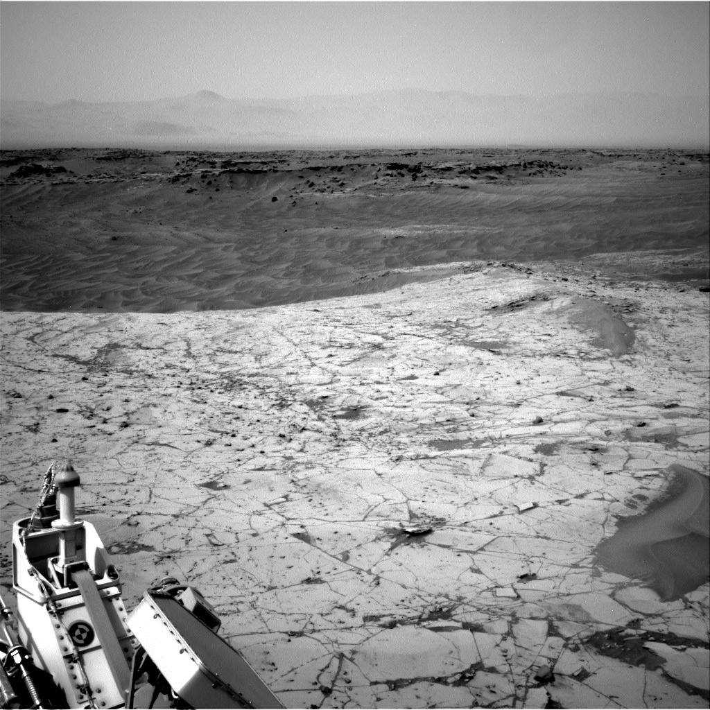 Nasa's Mars rover Curiosity acquired this image using its Right Navigation Camera on Sol 790, at drive 256, site number 44