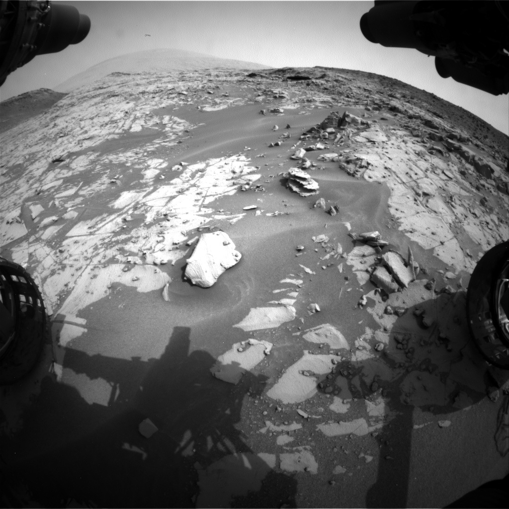 Nasa's Mars rover Curiosity acquired this image using its Front Hazard Avoidance Camera (Front Hazcam) on Sol 791, at drive 256, site number 44