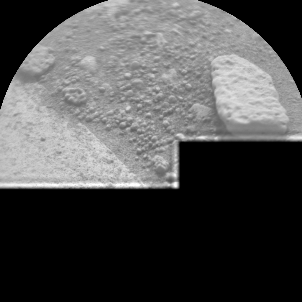 Nasa's Mars rover Curiosity acquired this image using its Chemistry & Camera (ChemCam) on Sol 791, at drive 256, site number 44