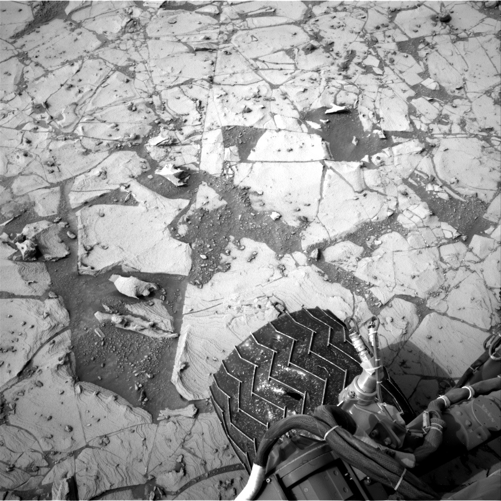 Nasa's Mars rover Curiosity acquired this image using its Right Navigation Camera on Sol 792, at drive 298, site number 44