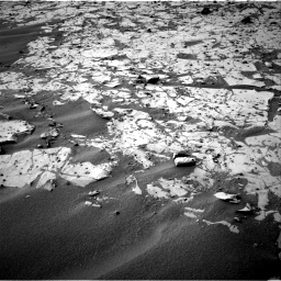 Nasa's Mars rover Curiosity acquired this image using its Right Navigation Camera on Sol 792, at drive 328, site number 44