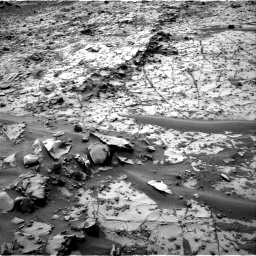 Nasa's Mars rover Curiosity acquired this image using its Right Navigation Camera on Sol 792, at drive 364, site number 44