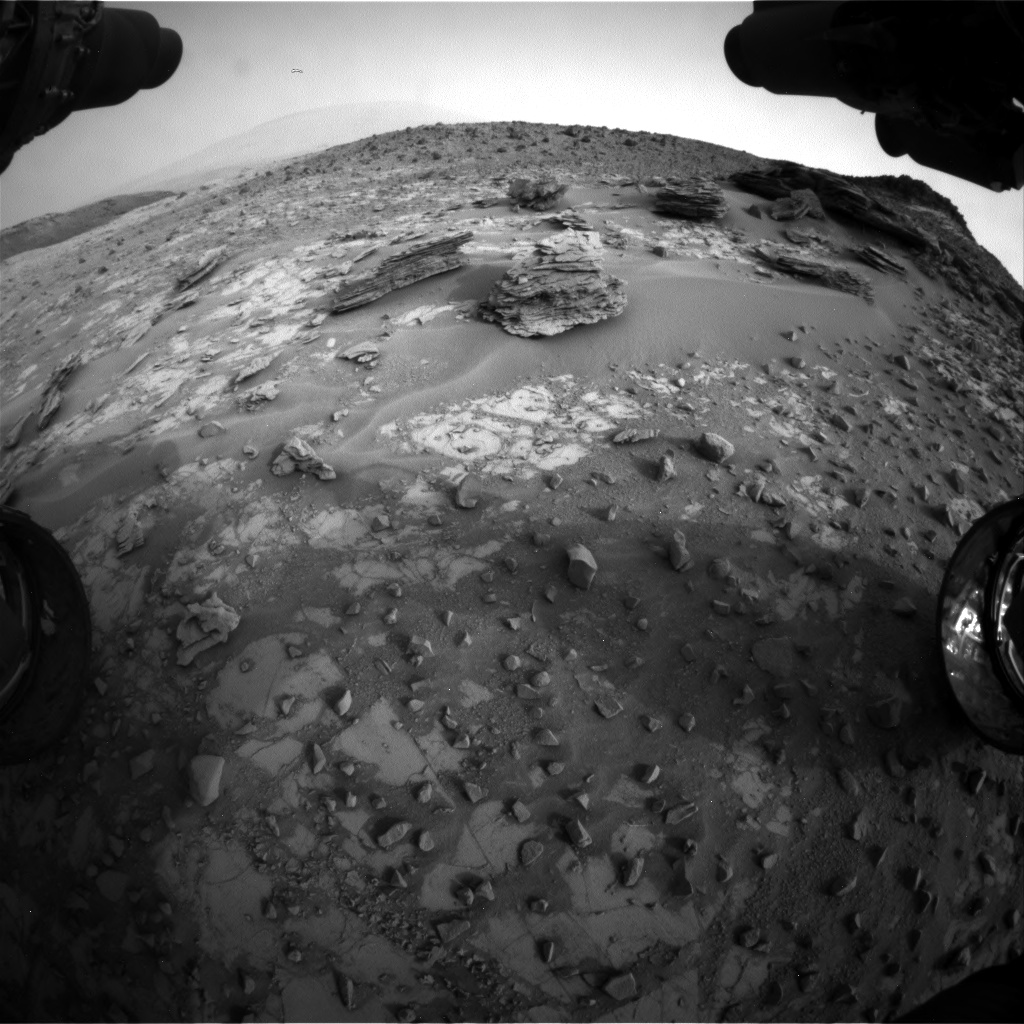 Nasa's Mars rover Curiosity acquired this image using its Front Hazard Avoidance Camera (Front Hazcam) on Sol 794, at drive 568, site number 44
