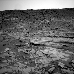 Nasa's Mars rover Curiosity acquired this image using its Left Navigation Camera on Sol 794, at drive 382, site number 44