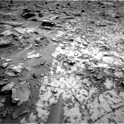 Nasa's Mars rover Curiosity acquired this image using its Left Navigation Camera on Sol 794, at drive 412, site number 44