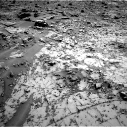 Nasa's Mars rover Curiosity acquired this image using its Left Navigation Camera on Sol 794, at drive 418, site number 44