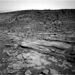 Nasa's Mars rover Curiosity acquired this image using its Right Navigation Camera on Sol 794, at drive 376, site number 44