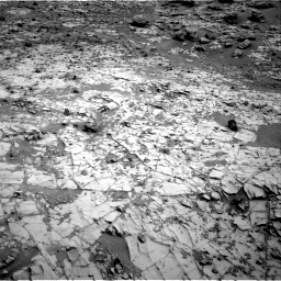 NASA's Mars rover Curiosity acquired this image using its Right Navigation Cameras (Navcams) on Sol 794