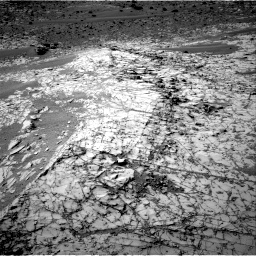 Nasa's Mars rover Curiosity acquired this image using its Right Navigation Camera on Sol 794, at drive 490, site number 44